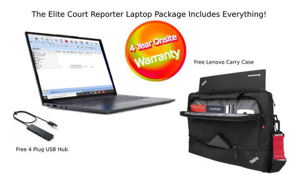 Elite Court Reporter Laptop Package
