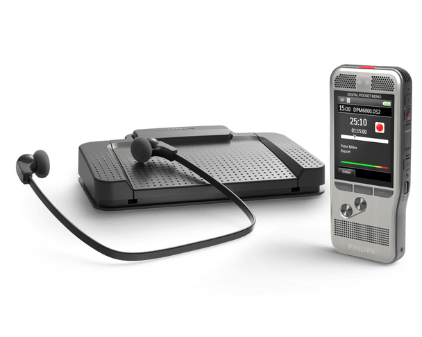 The Philips Complete Dictation and Transcription Kit is everything needed for one dictation device user and one typist, transcriptionist or secretary.