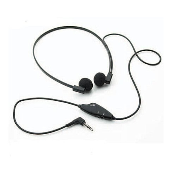 Zoom light weight headset for Court Reporters