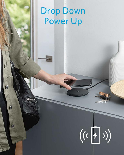 Court Reporter wireless charging system for phones