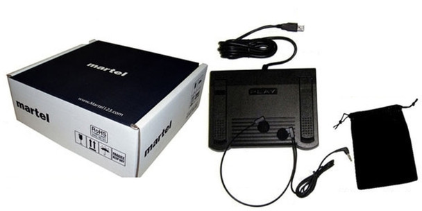 Foot pedal for Video Transcription
