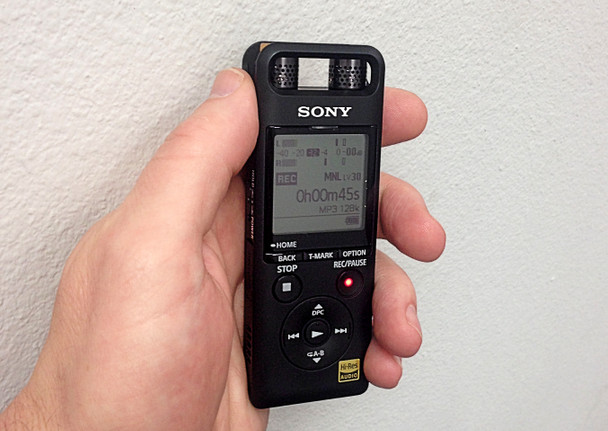Sony Ultimate Court Reporter Recorder SRM
