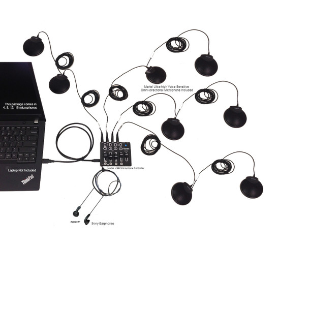 Zoom USB Multiple Microphones System
