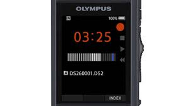 Olympus Ds2600 dictation recorder front side machine