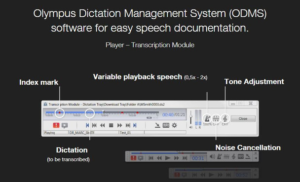 Olympus transcription software
