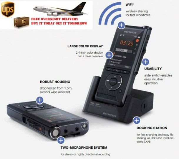 DS9500 wireless uploading dictation machine