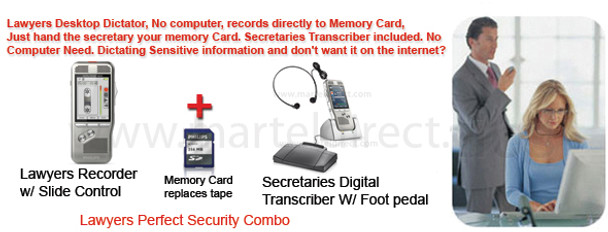 Lawyers Dictation Recorder/Transcriber