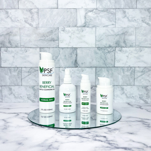 PSF Skincare Berry Beneficial Full Size Kit Deluxe