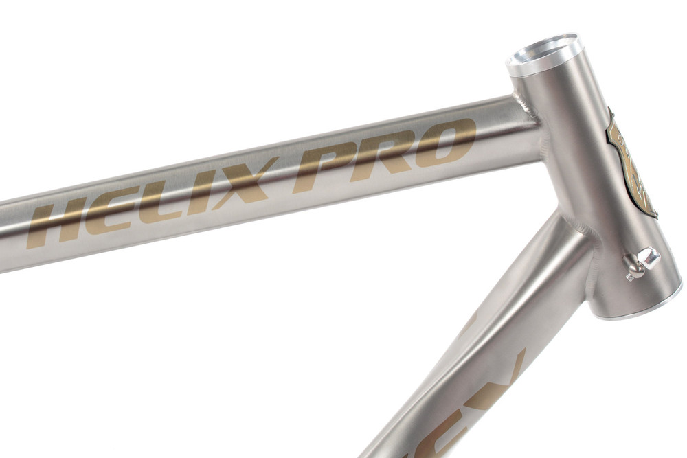 Shown with Bronze Anodization