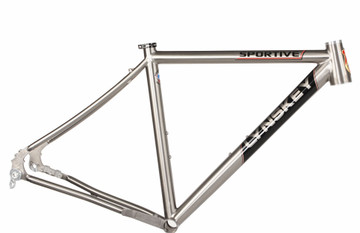 Sportive Disc   Frame Only   Mill Finish   Decals   Medium