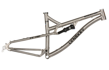 Lynskey Ridgeline 27.5 FS-140 (Shown with Fox shock - Frame comes with a Cane Creek DBAIR [IL] shock standard.)