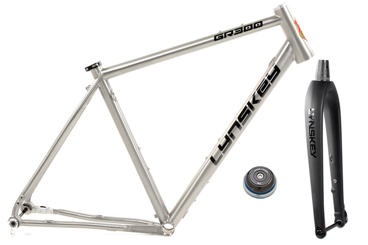 GR300 Gravel Bike Frameset | Internal Cable Routing