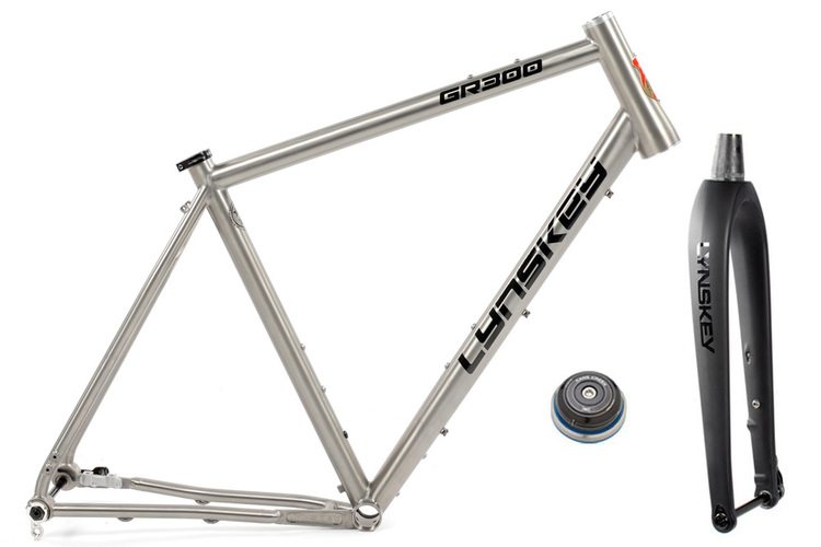 GR300 Gravel Bike Frameset | External Cable Routing