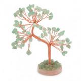 Gem Tree - Green Aventurine (Round Base)