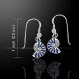 Nautilus Earrings (Sterling Silver)