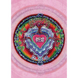 Window to the Heart Mandala Card (Loving Thoughts Message)