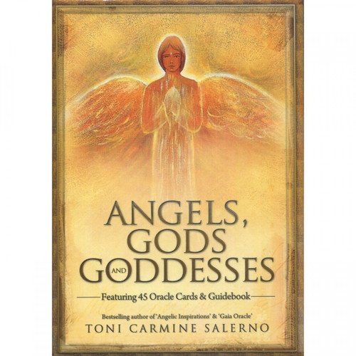 Angels, Gods & Goddesses Oracle Cards - Toni Carmine Salerno