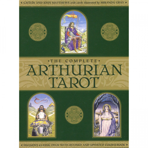 Cards & Book Set: The Arthurian Tarot - Caitlin & John Matthews