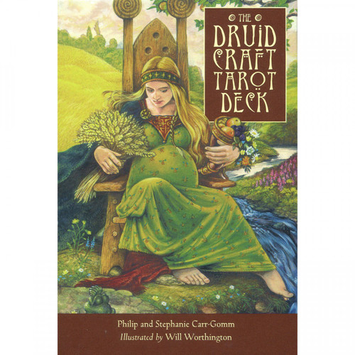 The Druid Craft Tarot Cards - Philip & Stephanie Carr-Gomm