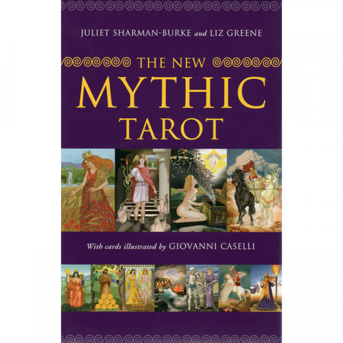 The New Mythic Tarot - Card & Book Set - Juliet Sharman-Burke