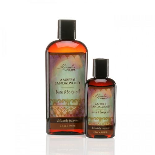Body Oil - Amber & Sandalwood