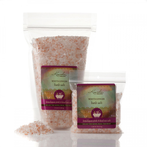 Bath Salts - White Ginger