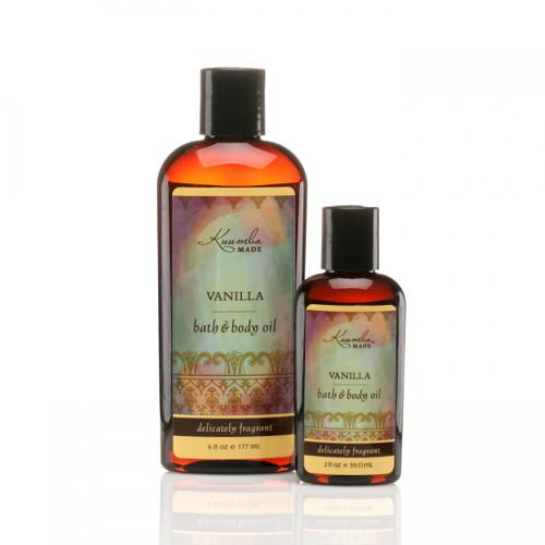 Body Oil - Vanilla