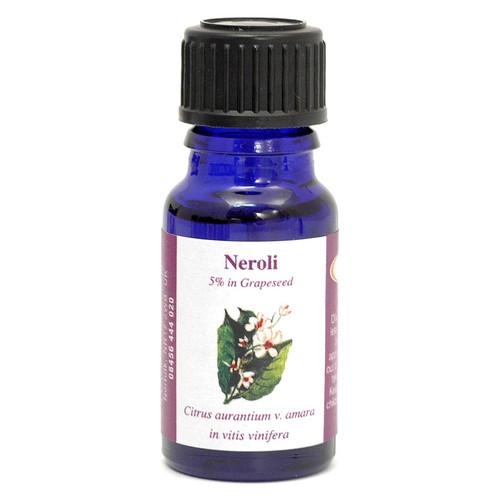 Neroli (5% dilution in grape seed oil) Essential Oil - 10 ml