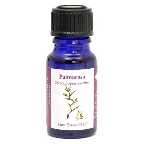 Palmarosa Essential Oil (Comoros) - 10 ml (100% pure concentrated)