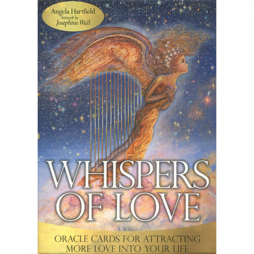 Whispers of Love Oracle Cards - Angela Hartfield