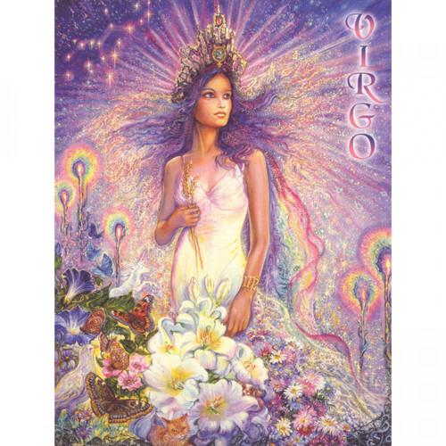 Virgo Zodiac Card (Message)