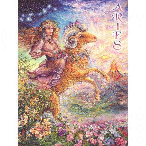 Aries Zodiac Card (Message)