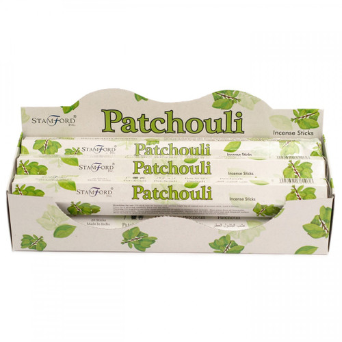 6 Pack - Stamford Patchouli Incense Sticks