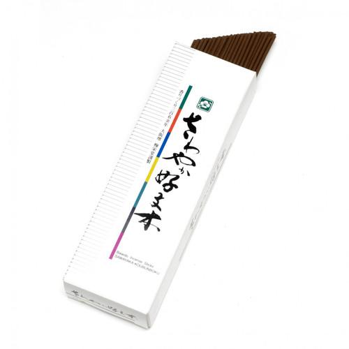 Sawayaka Kobunboku incense - Medium box, 80 short sticks
