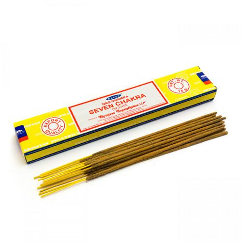 Seven Chakras - Incense Sticks (Satya)