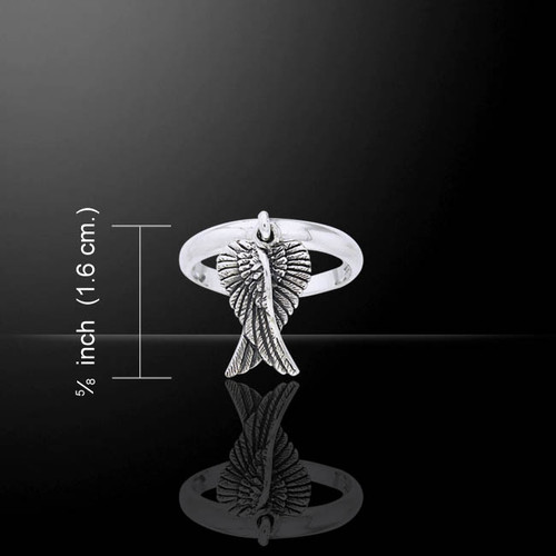 Angel Wings Ring (Sterling Silver)