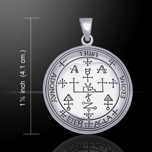 Sigil of Archangel Uriel Pendant (Sterling Silver)