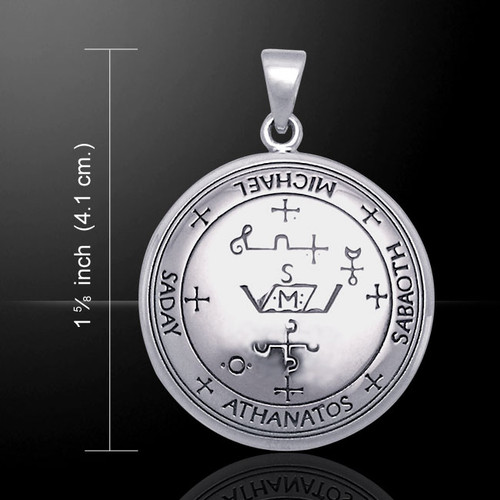 Sigil of Archangel Michael Pendant (Sterling Silver)