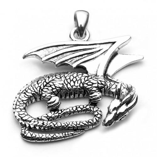 Dragon Pendant (Sterling Silver)