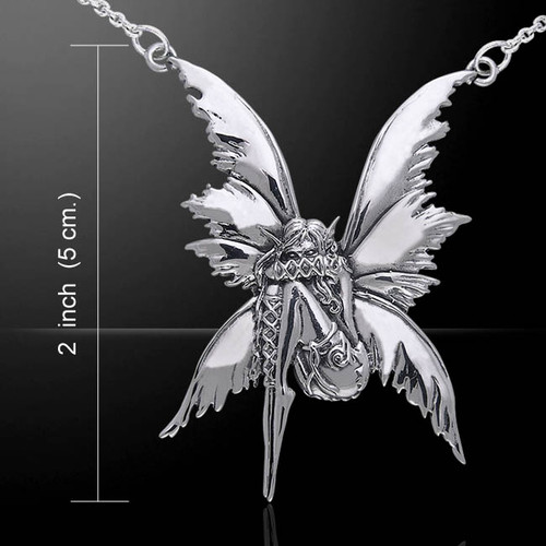 Bashful Fairy Necklace (Sterling Silver)