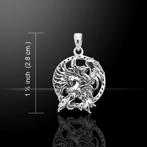 Jody Bergsma Phoenix Pendant (Sterling Silver)