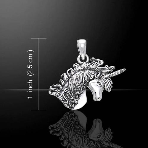 Unicorn Pendant (Sterling Silver)