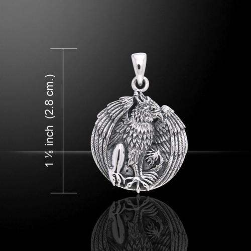 Jody Bergsma Gryphon Pendant (Sterling Silver)