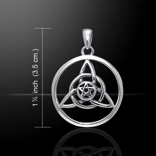 Druids Amulet Pendant (Sterling Silver)