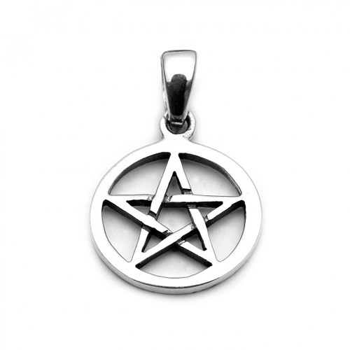 Small Pentacle Pendant (Sterling Silver)