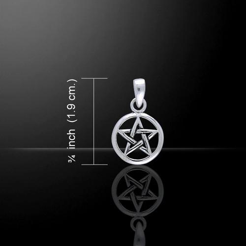 Pentagram Pendant (Sterling Silver)