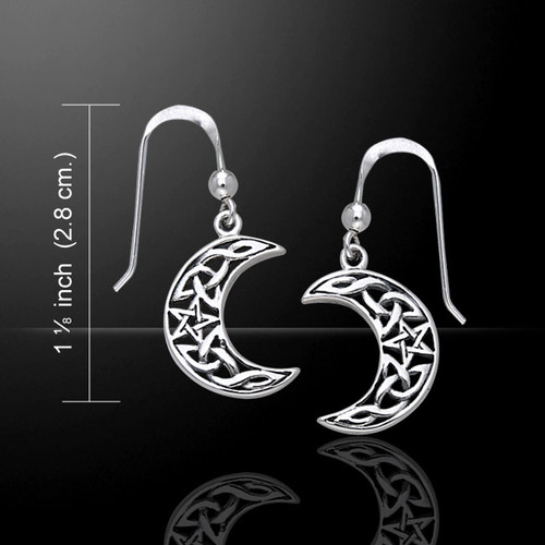 Magick Moon Spirits Earrings (Sterling Silver)