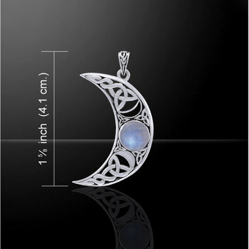 Blue Moon Pendant (Sterling Silver)