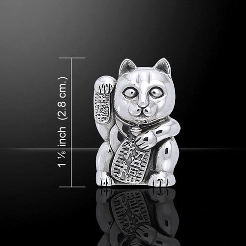 The Lucky Cat - Maneki Neko (Sterling Silver)