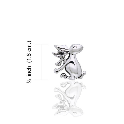 Hare Pendant (Sterling Silver)